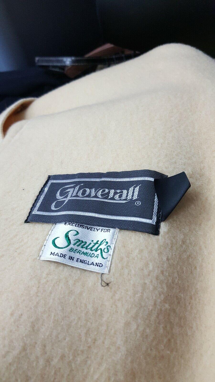Gloverall Duffel Coat USA Size 12 Cream Wool Hoo… - image 4