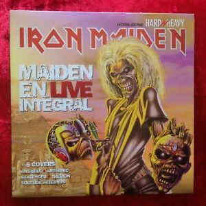 IRON-MAIDEN-EN-LIVE-INTEGRAL-5-tracks-Various-5-cover-promo-Hard-039-n-039-Heavy