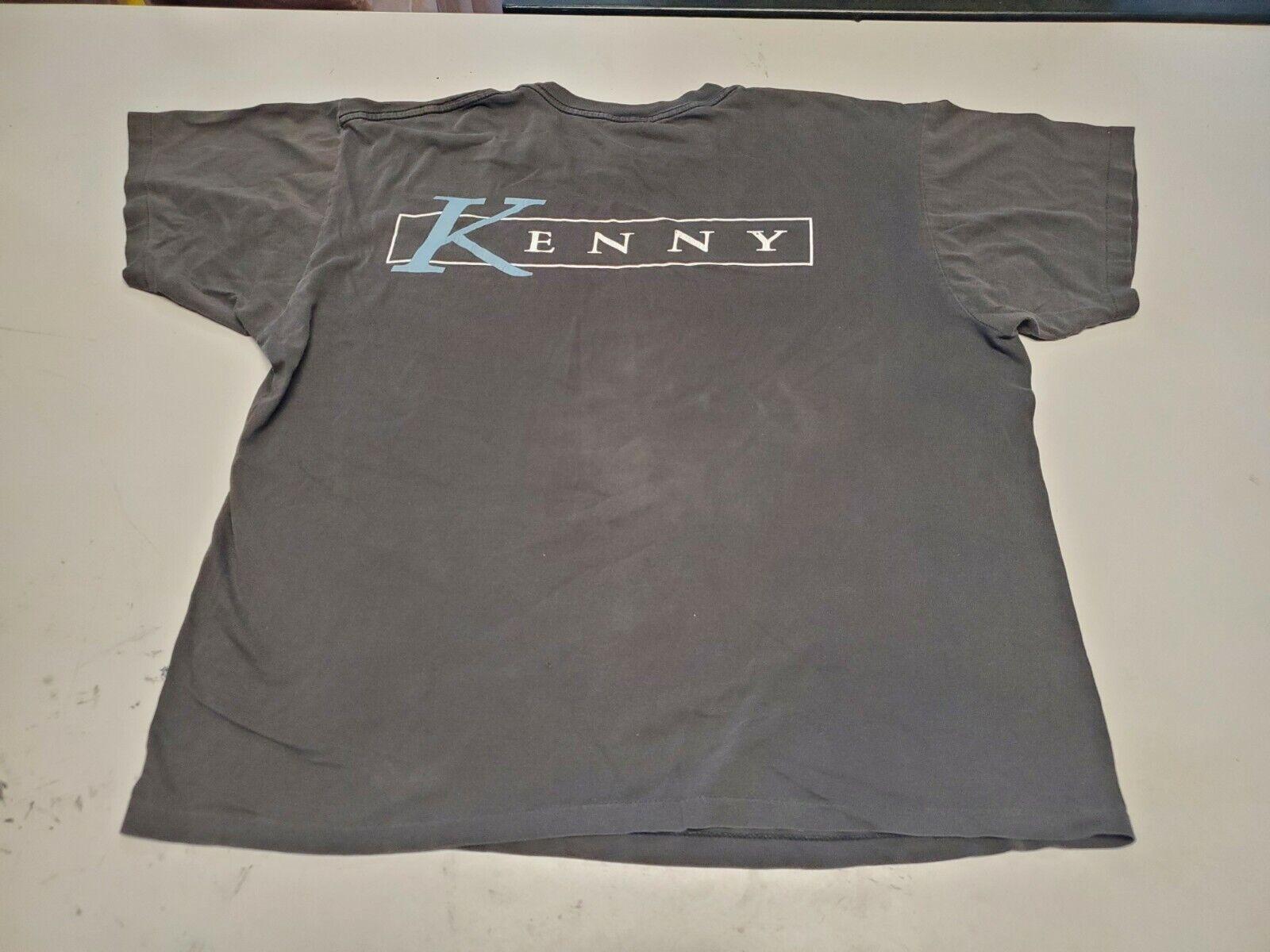 Vintage Kenny Rogers Shirt 1994 Winterland Black … - image 5