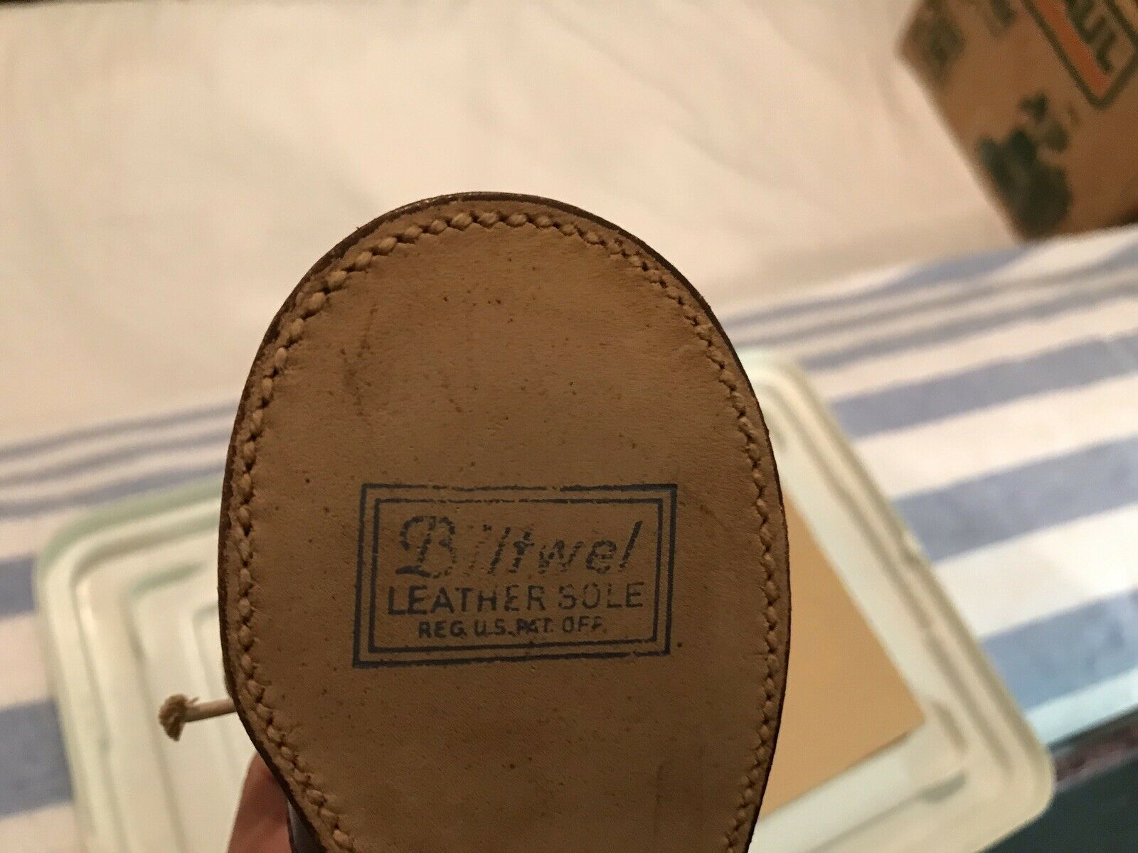1960s Child Two Tone Dress shoes! - image 6