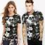 Space-Galaxy-Crane-d-039-impression-3D-Femme-Homme-Casual-T-shirt-a-manches-courtes-Graphic-Tee miniature 27