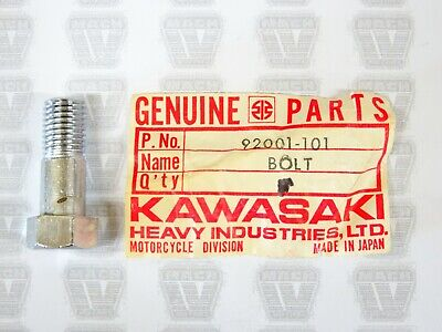 Genuine Kawasaki Parts 92001-101 Kick Pedal Bolt