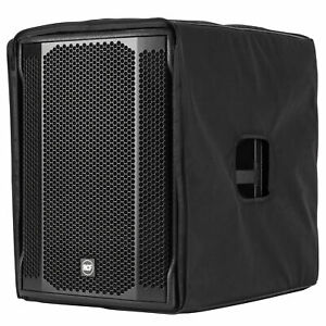 "RCF 705 as mkii MK2 15"" powered subwoofer with cover"