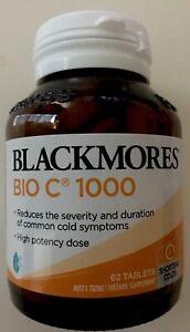 Blackmores Bio C 1000mg 63tablets Vitamin C Au Seller Guaranteed Quality 93558594 Ebay