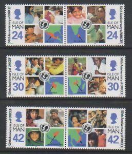 Isle-of-Man-1996-Unicef-set-MNH-SG-713-18
