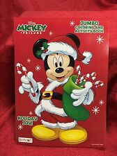 Disney Christmas Mickey Mouse Coloring & Activity Book Age 3+ Holiday Joy