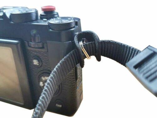 Cubierta de cuero correa de la Cámara Triángulo Arillo Gancho para Sony Canon Nikon Olympus