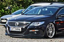 Spoilerschwert Frontspoilerlippe Cuplippe aus ABS für VW Passat CC 3CC mit ABE
