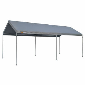 True-Shelter-10-x-20-Foot-All-Weather-Protection-Sun-Blocker-Portable-Car-Canopy