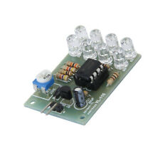1Pcs 12V Breathe Light LED Flashing Lamp Parts Module LM358 Chip 8 LED