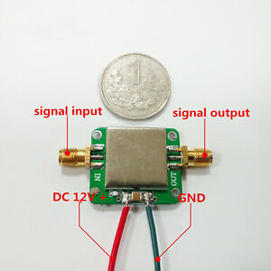 12VDC-0-01-2000MHz-2GHz-32dB-LNA-Broadband-RF-Low-Noise-Amplifier-Module-VHF-UHF