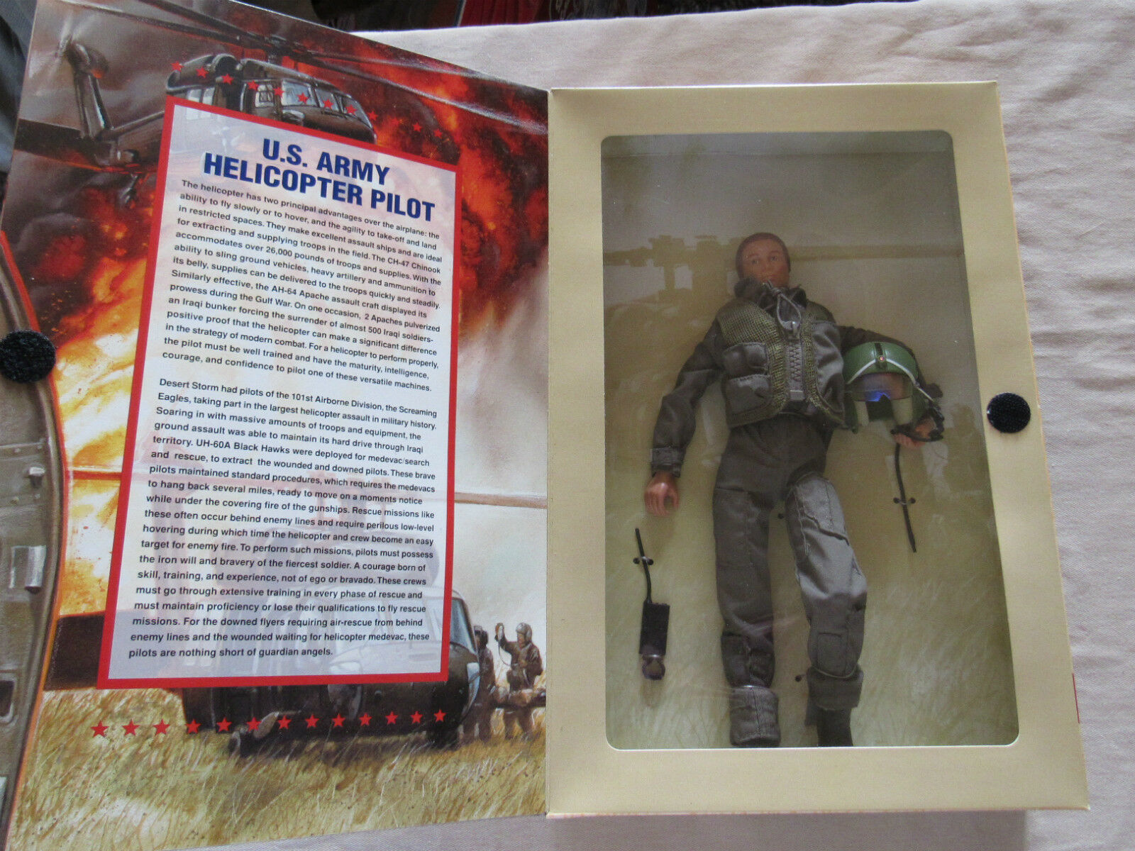 NRFB 1997 GI Joe Classic Collection GI Jane Helicopter Pilot RED HAIR Ltd Ed