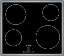 Kochfeld Autark Bosch PKE645 Glaskeramik Ceran Touch Control Edelstahlrahmen