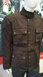 Warrior-Classic-Motorcycle-Waxed-Cotton-Motorbike-Cotton-Waxed-Waterproof-Jacket