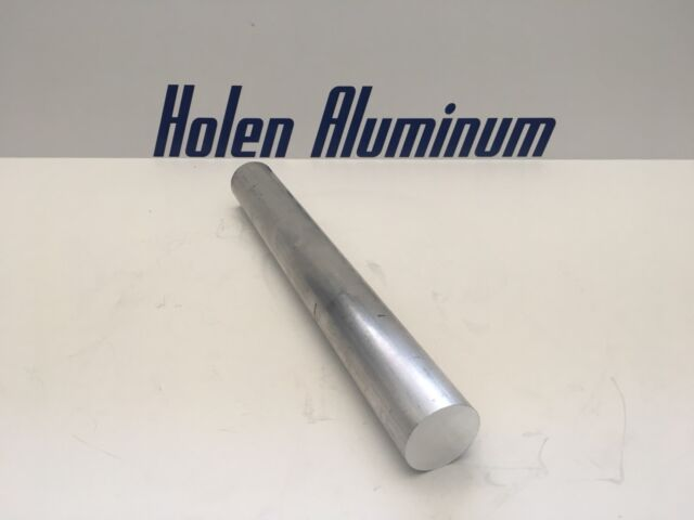 """4 Pieces 1-1//4/"""" ALUMINUM 6061 ROUND ROD 16/"""" long SOLID T6511 1.25/"""" OD BAR STOCK"""