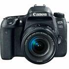 Canon EOS 77D 24.2MP Digital SLR Camera - Black (Kit w/ EF-S 18-55mm Lens) (Latest Model)