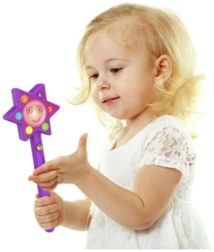 Brand New Ben /& Holly/'s Little Kingdom Magical Wand Purple With Music and Lights