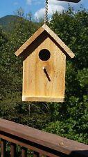 Rough Cedar Solid Wood Rustic Appearance Bird House