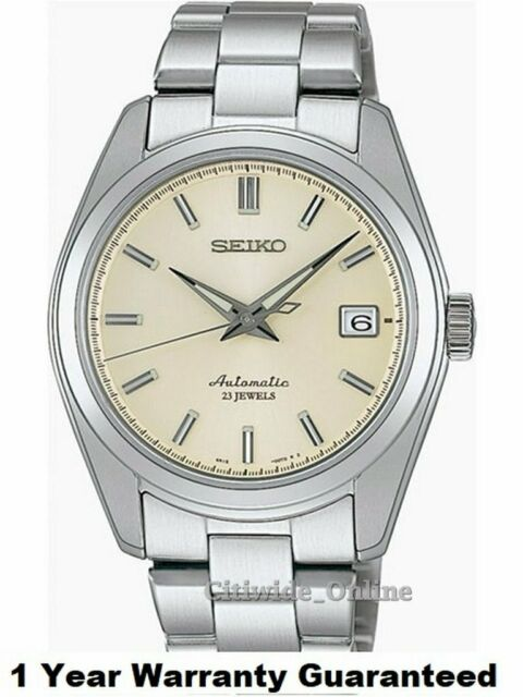 Seiko SARB035 Mechanical Automatic White Dial Mens Watch+Worldwide Warranty IT*3