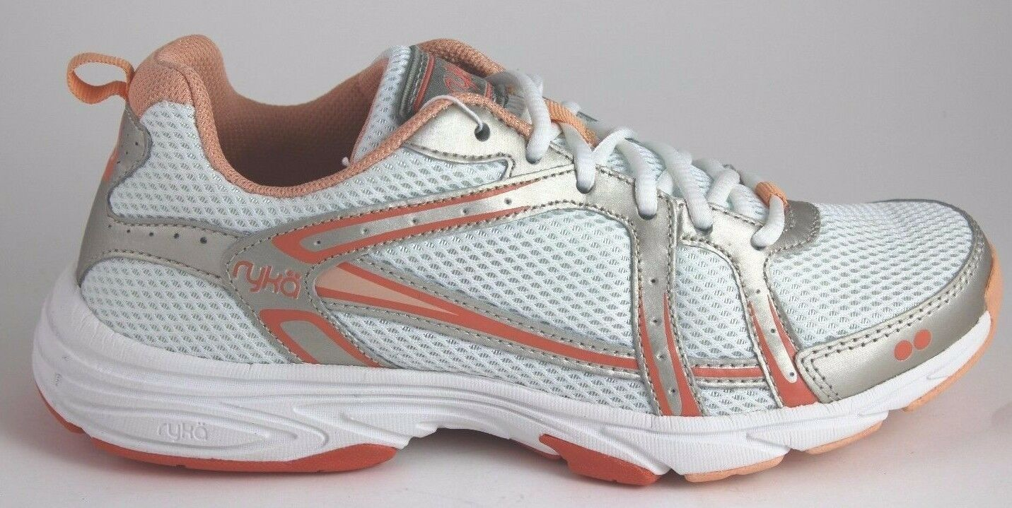 Femmes Ryka Approach or blanc Corail D2105L1100 chaussures Entraînehommest Neuf en
