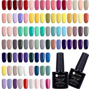 UR-SUGAR-7-5ml-Soak-Off-UV-Gel-Polish-Pure-Color-Nail-Art-Gel-Varnish-Manicure