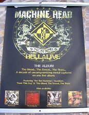MACHINE HEAD Hellalive/STONE SOUR Bother 2003 promo poster 28 x 20  original