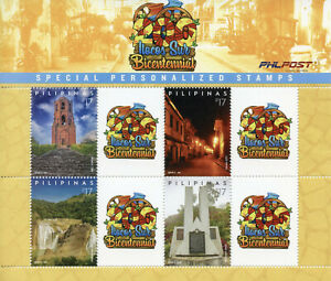 Filippine-2019-Gomma-integra-non-linguellato-Domingo-Sur-4v-M-S-Architettura-Turismo-paesaggi