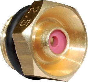 ASJ - Ugello  per diserbo per alta pressione con corpo in ottone HP09