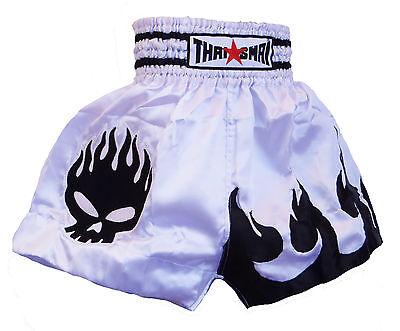 Short Boxe Thailandaise Muay Thai THAISMAI fighter spirit satin toutes tailles