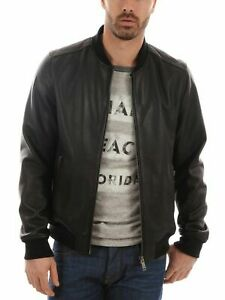 Noora-New-Men-Quilted-Leather-Jacket-100-Soft-Lambskin-Biker-Bomber-LTMJ864