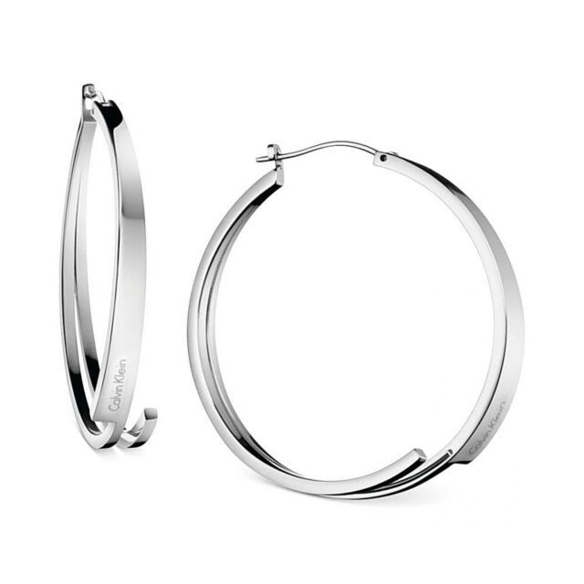 fd8702e55 Calvin Klein Jewelry Beyond Hoop Earrings Kj3ume0001 for sale online ...