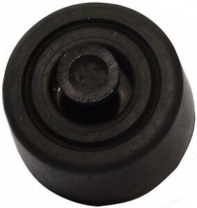 4x Pieds Patins Ronds En Pe H: 10mm Ø20mm Pour Meubles. A Emboîter. Noir M4ynux1n-07183156-448168125