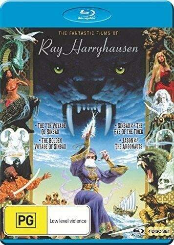 1 of 1 - Fantastic Films Of Ray Harryhausen - 4 DISC SET (2015, Blu-ray NEW)