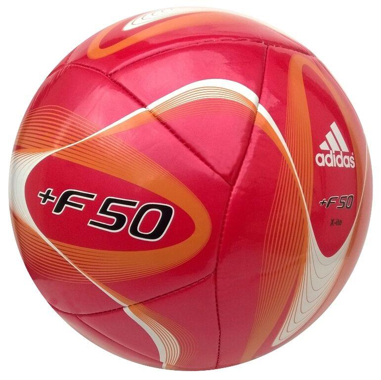 Adidas F50 Xite Fußball Ball Trainingsball Trainingsball Trainingsball Größe 5 rot-weiss Fussball  | Spielen Sie auf der ganzen Welt und verhindern Sie, dass Ihre Kinder einsam sind  2ea270