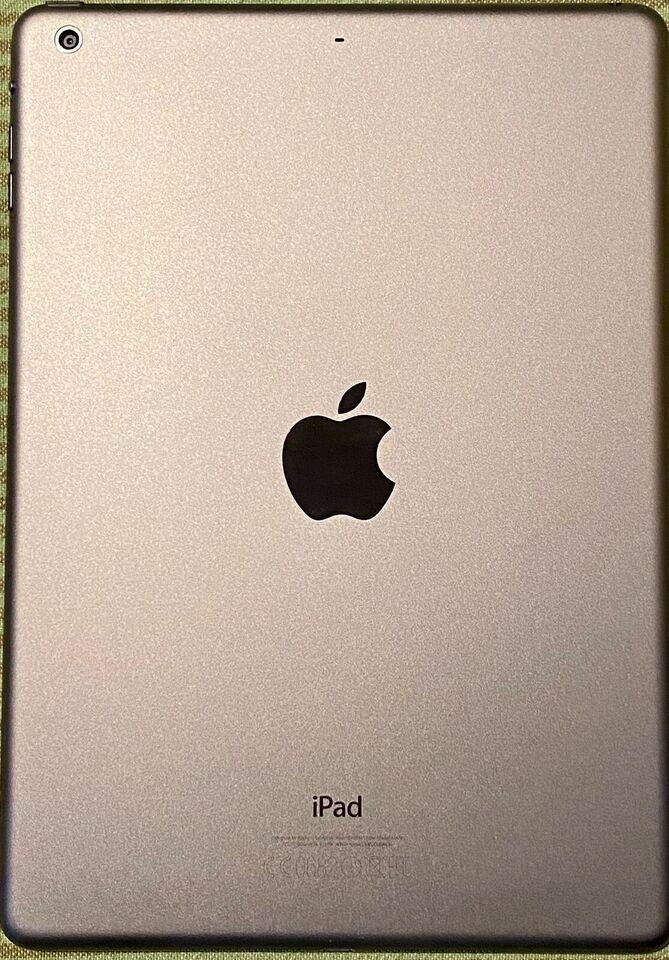 iPad Air, 16 GB, sort