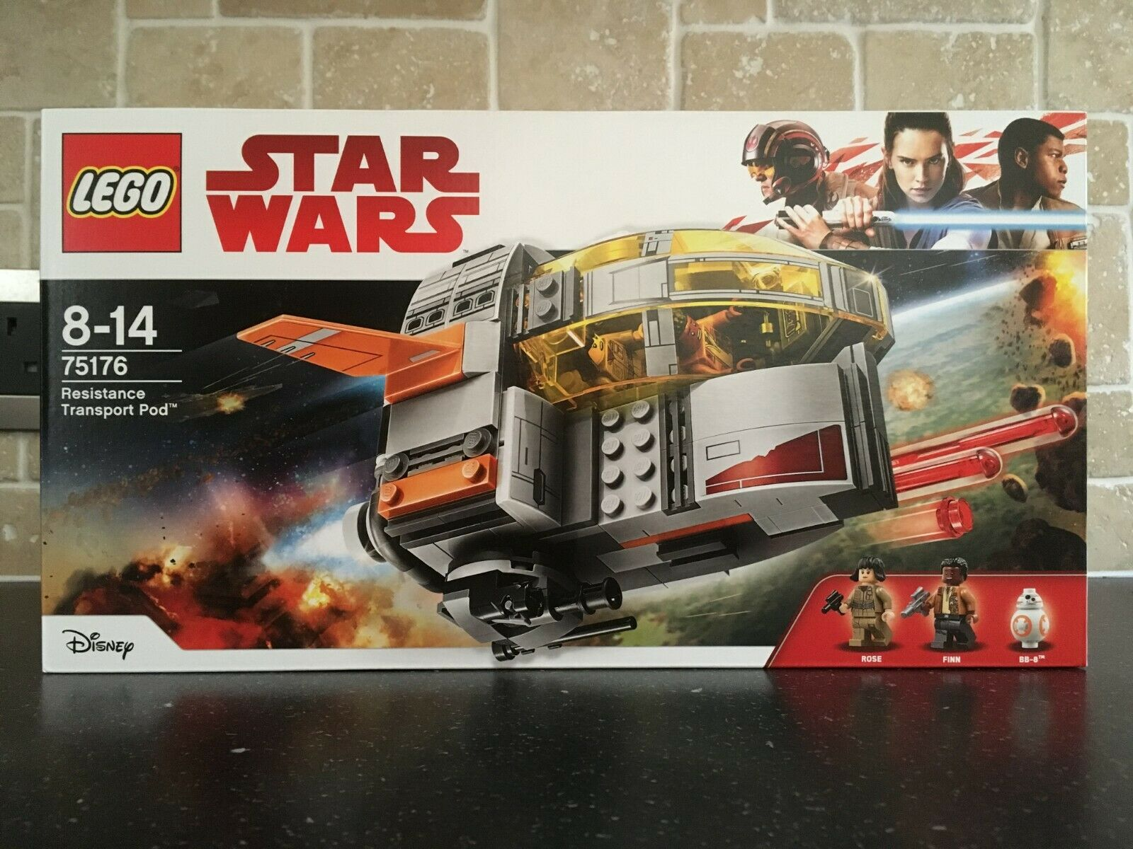 LEGO STAR WARS - 75176 Resistance Transport Pod Brand New In Sealed Box