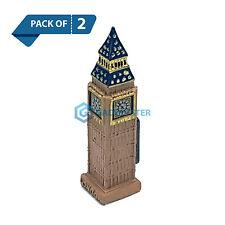 2 X Fridge Magnet London Big Ben Novelty Resin Ceramic Souvenir Gift England UK