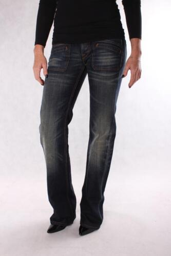 REPLAY w406 072 220 007 neeko, Jeans da donna, Blu Scuro Denim