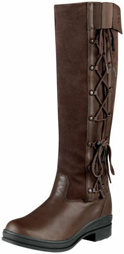 Ariat® Ladies Grasmere H2O Country Boots Chocolate