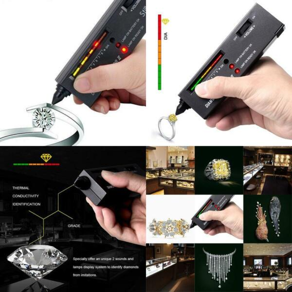 Der GüNstigste Preis Stillcool Diamant Tester V2 Diamantprüfer Gem Tester Diamanten Testgerät Schmu