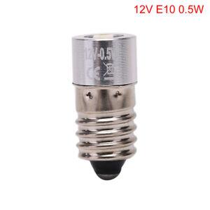 E10 0.5W P13.5S LED für Fokus-Taschenlampen-Wiedereinbau-Birnen-Fackel-Arbei CL