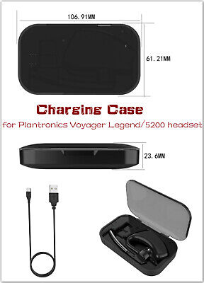 Charging Case For Plantronics Voyager Legend Bluetooth Headset Usb Cable Ebay