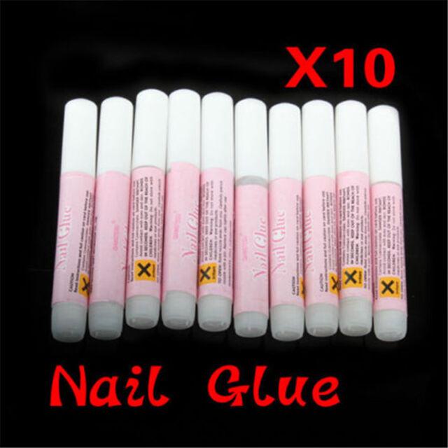 10PCS 2g Mini ProfessionaL Beauty Nail False Art Decoration Tips Acrylic Glue Dw