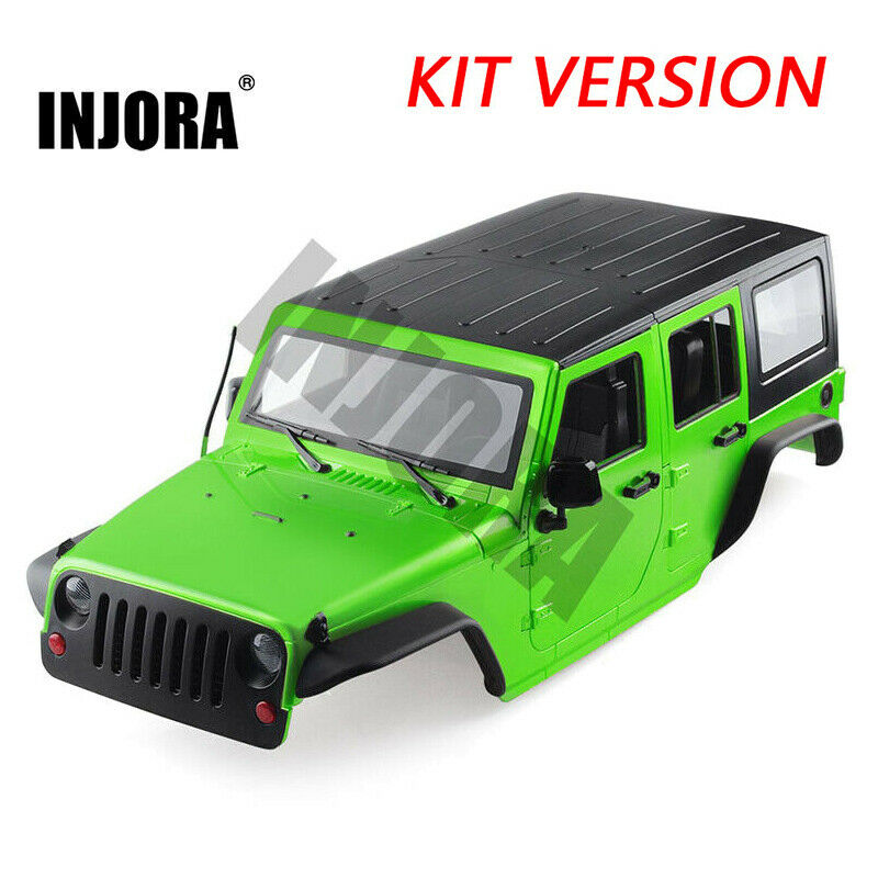 313MM auto corpo Shell Kit for 1 10 RC Jeep Wrangler Axial SCX10 & II 90046 90047