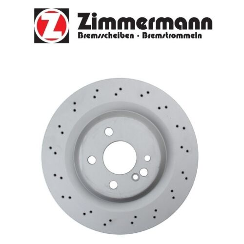 For Mercedes Benz CL55 AMG S55 AMG 2003-2006 Rear Disc Brake Rotor Zimmermann