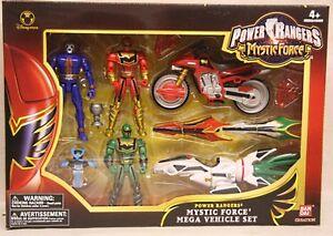 Power Rangers - Ensemble méga force Mystic Force avec Kryobot bleu extraterrestre (misb)