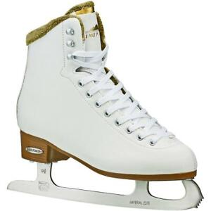 Lake-Placid-WHITNEY-Women-039-s-Traditional-Figure-Ice-Skate-White