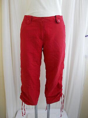 """Ambizioso """"authentic Style"""" Pantaloni Leggeri 3/4 - Pantaloni Bermuda Pantaloncini Ginocchio Ricoperta M. Lacci-mostra Il Titolo Originale"""
