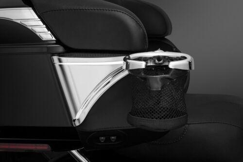 Right Side Harley CVO,Electra Kuryakyn 1692 Passenger Drink Holder with Basket