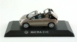 Miniatura-Nissan-Micra-C-C-coupe-cabriolet-1-43-REX003